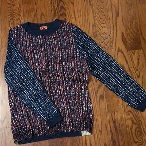 Tory Burch wool blend sweater size xl